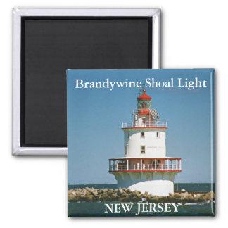 Luz del bajío de Brandywine imán de New Jersey