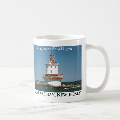 Luz del bajío de Brandywine, taza de New Jersey
