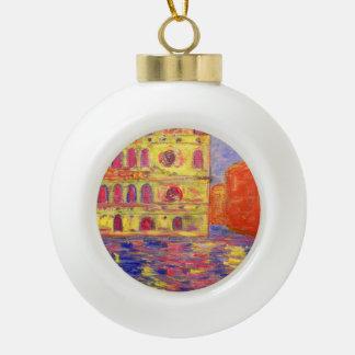 luz del canal de Venecia Adornos