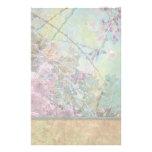 Luz del collage de la flor de cerezo papeleria personalizada