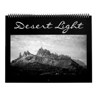 Luz del desierto (calendario) calendarios de pared
