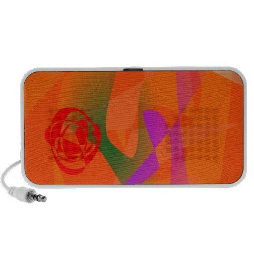 Luz del día anaranjada iPhone altavoces