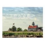 Luz del este del punto tarjeta postal