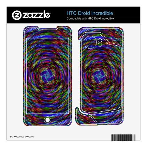 Luz del estroboscópico HTC droid incredible skin