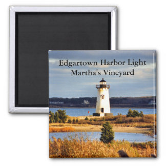 Luz del puerto de Edgartown, imán de Massachusetts