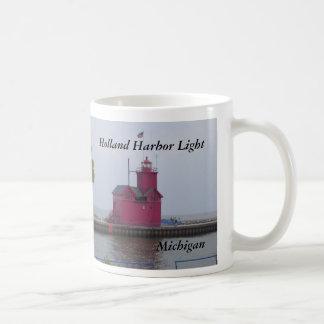 Luz del puerto de Holanda, taza del MI