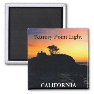 Luz del punto de la batería, imán 2 de California