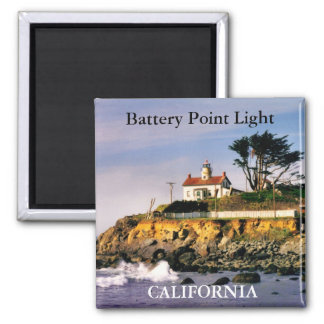 Luz del punto de la batería, imán de California