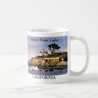 Luz del punto de la batería taza de California