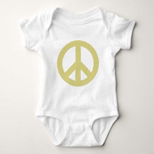 Luz del signo de la paz body para bebé