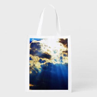 Luz del sol bolsas para la compra