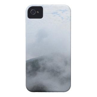 Luz del sol de la nube del cielo iPhone 4 protector