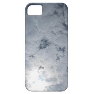 Luz del sol de la nube del cielo iPhone 5 carcasa
