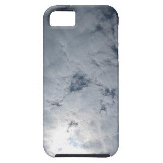Luz del sol de la nube del cielo iPhone 5 fundas