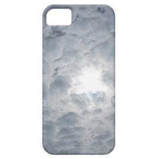 Luz del sol del cielo de la nube funda para iPhone 5 barely there
