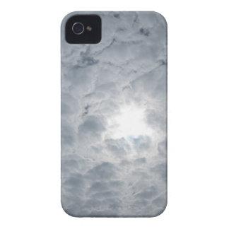 Luz del sol del cielo de la nube iPhone 4 cárcasa