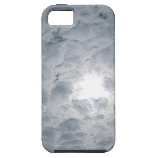 Luz del sol del cielo de la nube iPhone 5 carcasa