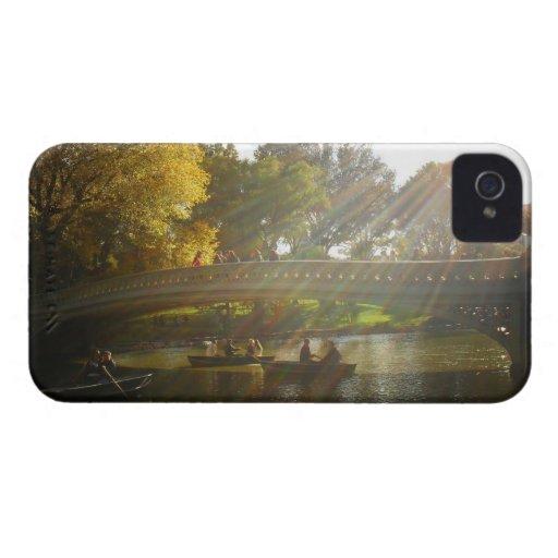 Luz del sol del otoño - Central Park - NYC Case-Mate iPhone 4 Cárcasas