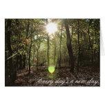 Luz del sol - Notecard Tarjeton