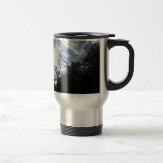 luz del sol taza de café