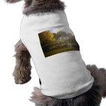 Luz del sol y barcos, puente del arco, Central Par Camiseta De Mascota