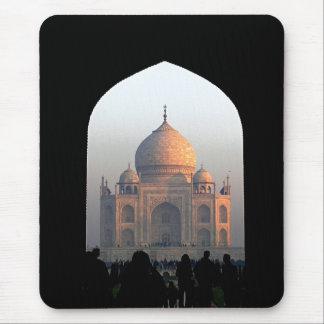 Luz del Taj Mahal de la foto de la arquitectura de Alfombrilla De Ratón