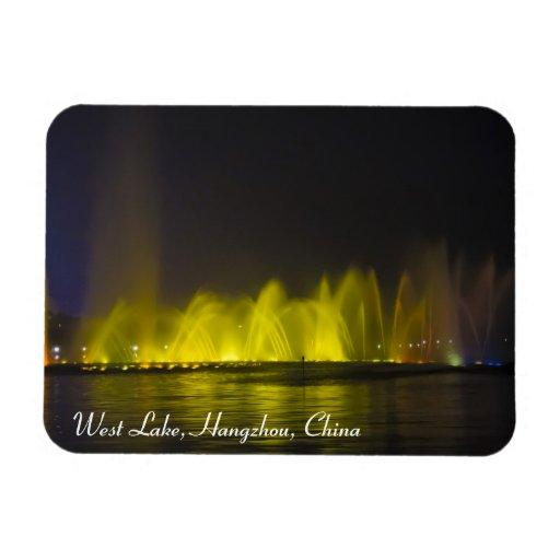 Luz-Demostración colorida del lago del oeste Iman Flexible
