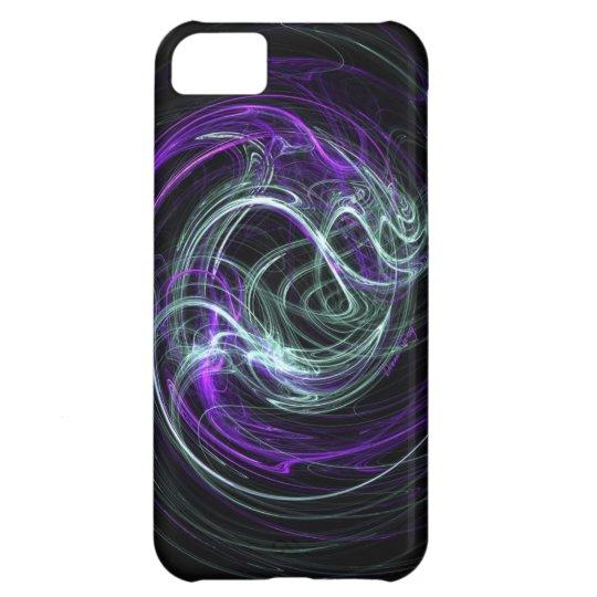 Luz dentro - remolinos de la violeta y del añil carcasa iPhone 5C