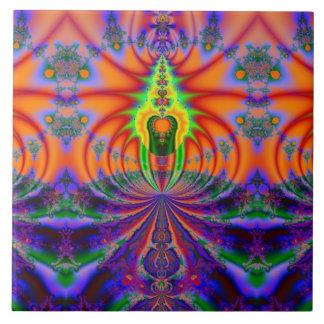 Luz divina azulejo cuadrado grande