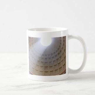 Luz divina taza de café