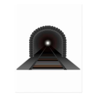 ¡Luz en el extremo del túnel! Tarjetas Postales