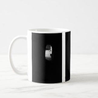 Luz en el extremo del túnel tazas de café