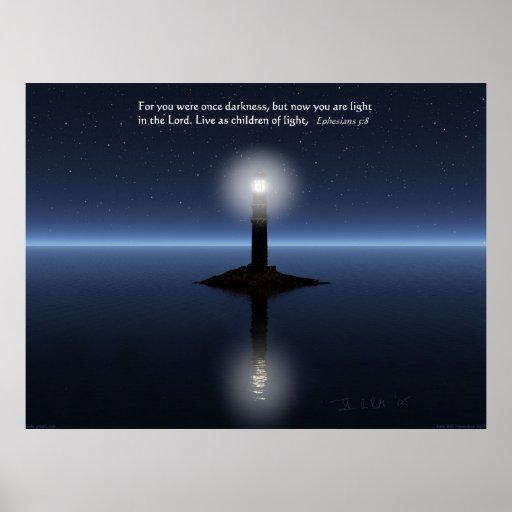 Luz en el señor poster