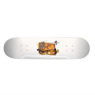Luz en mis pies skateboard