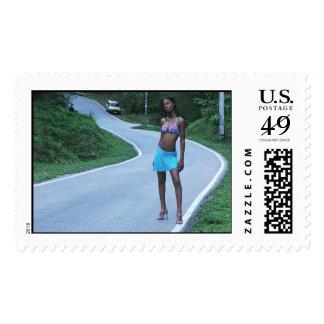 luz en tráfico sellos