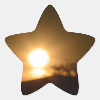 Luz eterna pegatina en forma de estrella