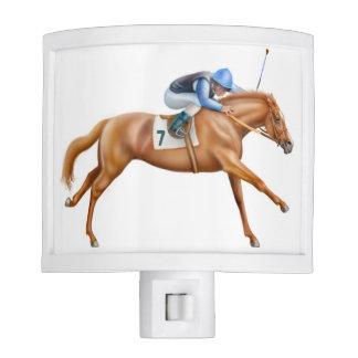 Luz excelente galopante de la noche del caballo de luces de noche