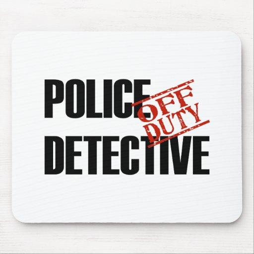 LUZ FUERA DE SERVICIO DE LA POLICÍA DTCTV TAPETES DE RATON