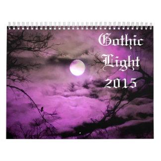 Luz gótica 2015 calendarios
