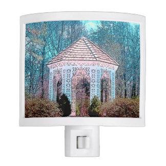 Luz imponente de la noche de la escena del jardín lámparas de noche