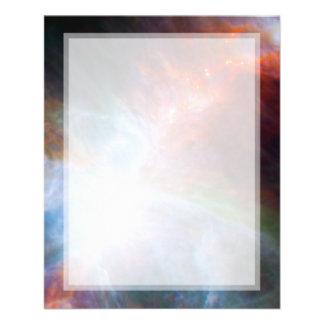 Luz infrarroja en la nebulosa de Orión Tarjetas Informativas
