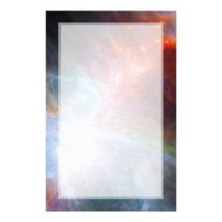 Luz infrarroja en la nebulosa de Orión Tarjeta Publicitaria