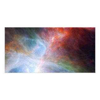 Luz infrarroja en la nebulosa de Orión Tarjeta Personal