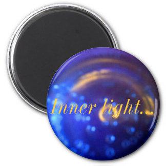 Luz interna imán redondo 5 cm