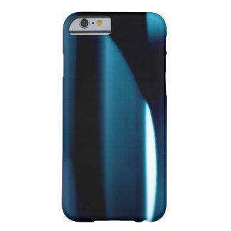 Luz l extracto Negro-Azul-Blanco moderno Funda Barely There iPhone 6