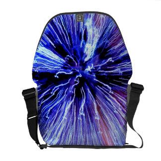 Luz llevada bolsas de mensajería