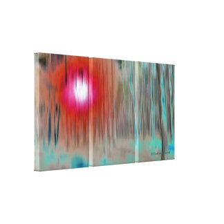 Luz misteriosa de la bella arte del © P Wherrell e Impresion De Lienzo