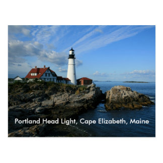 Luz principal de Portland cabo Elizabeth Maine Tarjetas Postales