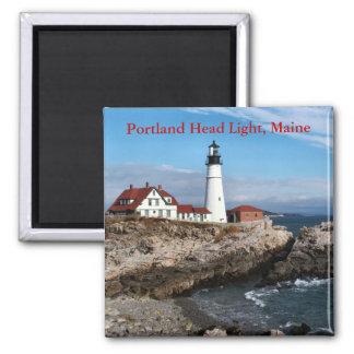 Luz principal de Portland, imán de Maine