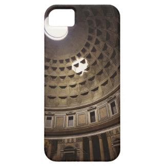 Luz que brilla con oculus en el panteón adentro funda para iPhone 5 barely there